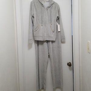 Pants - Cute Velour Sweatsuit